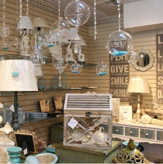 The california cottage beach chic decor coral jewelry unique gifts seal beach ca - Garden decor stores ...